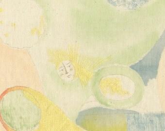 Nani Iro Japanese fabric in double gauze - Beautiful Life - 1/2 YD