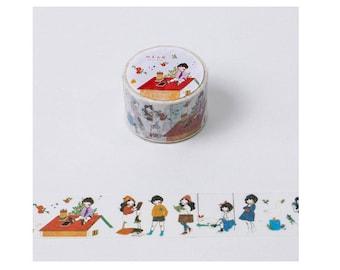 Diary Scrapbook Adhesive Masking Deco Washi Tape - Heeda New  (3 cm Width)