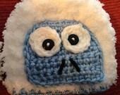 Abominable snowman/Yeti hat