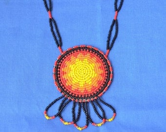 Native American Beaded Necklace