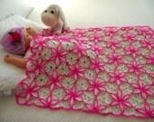 BABY BLANKET Crochet Pattern - granny square flowers blanket - Princessa Blanket - Baby Blanket handmade pdf pattern instant download