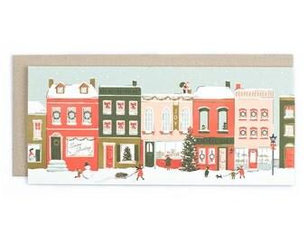 City Sidewalks - No. 10 Birthday Greeting Card