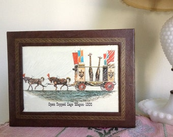 Vintage Circus Lithographs