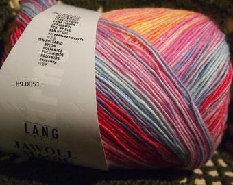 Lang Jawoll Magic 6 PLY Superwash sock (and not only) yarn