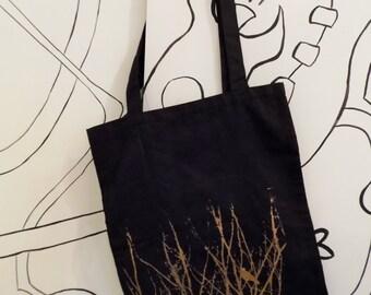 Raven Screen print Tote bag