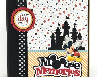 Disney Scrapbook Album DIY Kit or Premade Vacation 24 pages