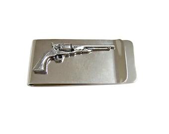 Antique Revolver Gun Money Clip