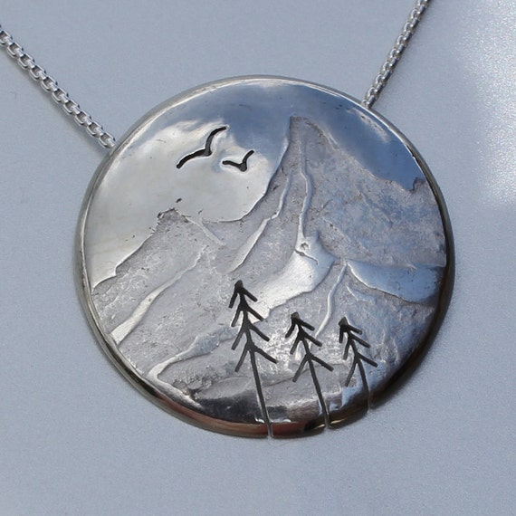 Silver Pendant from Angela Wright Designs