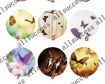 10mm,12mm,14mm,16mm,18mm,20mm,25mm,30mm butterfly Round photo Glass Cabochons,jewelry Cabochons finding beads,Photo Glass Cabochons