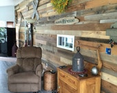 Reclaimed Wood Wall Paneling - 7.95 per square foot FREE SHIPPING - enter promo code BLACKFRIDAY for 10% discount