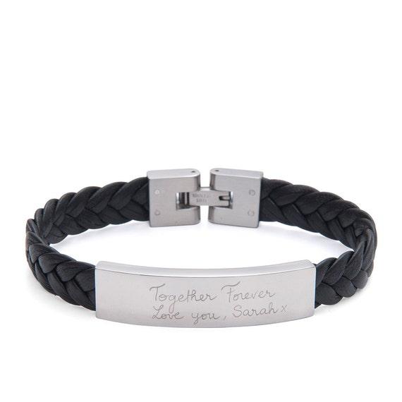 Men unique leather bracelet