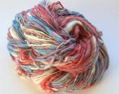 Soft Handspun Yarn - MISS JANE BENNET - merino & mulberry silk in worsted weight - soft handspun yarn made from merino and silk