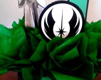 Yoda Star Wars Birthday Centerpiece Jedi Master Yoda Decoration Star Wars