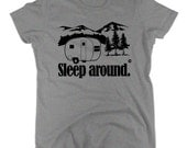 camping shirt i love to camp RV t shirt Sleep Around go rv'ing travel trailer men women kids white grey gift large xl 2xl 3xl 4xl youth tee
