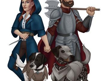 Fantasy Family Portraits