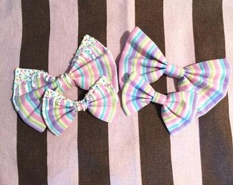 Fairy Stripes Bow