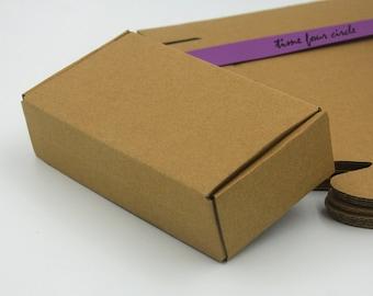 Set of 10, Kraft Gift Box, Gift Box, Favor, Gift, Party
