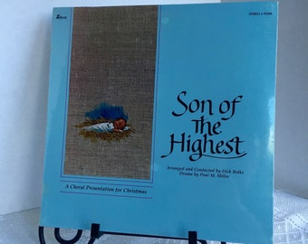 Vintage Vinyl Record Christmas Album Son of the Highest LP Sealed 1983