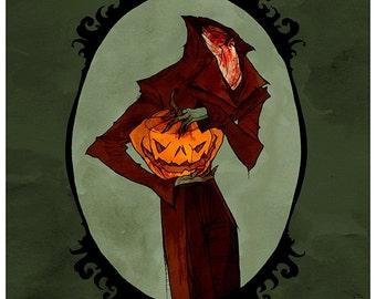 Sleepy Hollow 8X10 Print by Abigail Larson