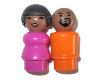 Little People Sesame Street Fisher Price Maria Gordon 1970s 1980s 70s 80s toys