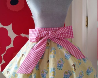 "Custom Made to Order Disney Princess Full Circle Mini Skirt with bow Sz 23""- 40"""