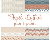 Digital / Printable wrapping paper
