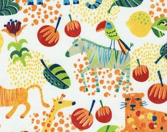 Safari Animal Fabric - 1 Yard Cut - Timeless Treasure Fabric - Quilting Fabric