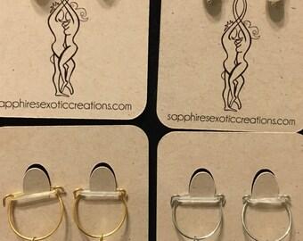 Pierced/Non Pierced Nipple Jewelry