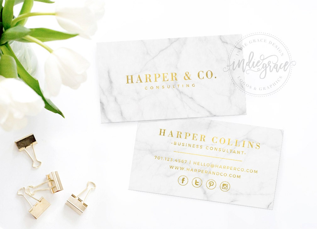 real gold foil business card template moo gold foil design