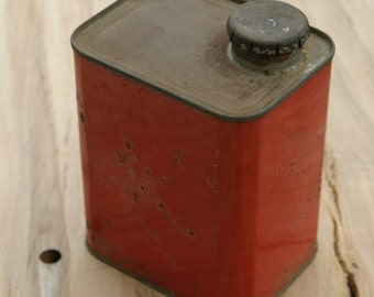 Vintage SOULE Maple Sugar Maker Green Mountain Apple Jack Syrup Tin Can 1 1/4 Gallon S. Allen Soule Fairfield VT 1 of a Kind Very Rare