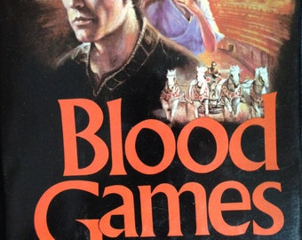 Book, Blood Games by Chelsea Quinn Yarbro.