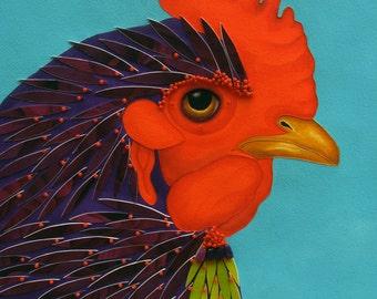 Spring Chicken: Iris