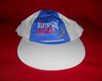 One (1) Avon, Olympic Sponsor Ball Cap/Hat. 1996 Atlanta, Centennial Olympic Games.