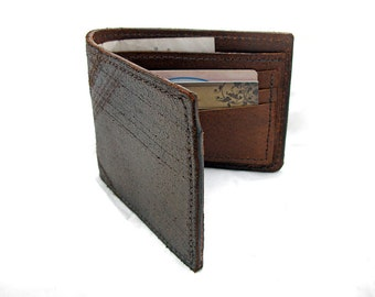 Handmade Bronze Distressed Leather Wallet