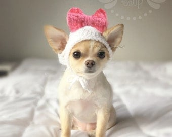 Pet Big Bow Hat (XS-XL)