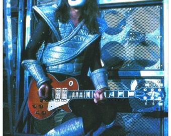 KISS Ace Frehley Live 24 x 34.78 Alive II Era Poster Reproduction (No Logo) - Kiss Band Kiss Collectibles Gift Idea Poster Retro kiss76