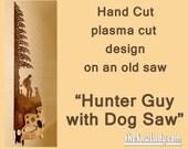 Metal Art Hunter Man and ...