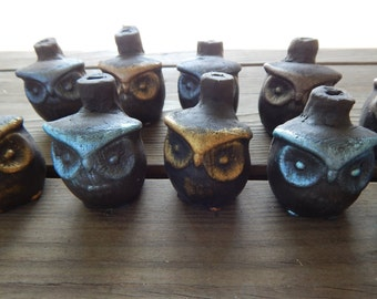 Clay Hooting Owl Whistle