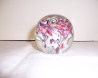 PAPER WEIGHT : Red White and Blue
