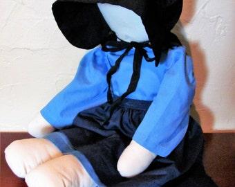 Vintage Handmade Amish Lizzie Doll