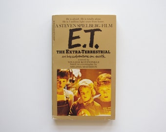 E.T. the Extra-Terrestrial Vintage Paperback