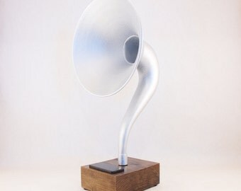 Bluetooth Speaker, Reproduction Gramophone Speaker, Wireless Speaker, iPhone Speaker, iPhone Amplifier, iPhone Dock, iPhone Stand