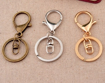 10 pcs Keychains DIY Kit  3 Colors available