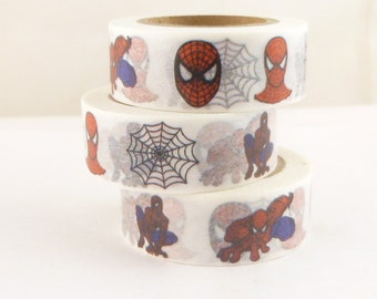 Spiderman Super Hero Washi Tape - RR2144