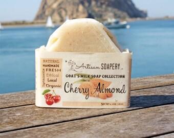 Cherry Almond Goat's Milk Soap