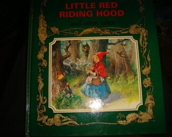 1990 Vintage Great Fairy tale Classics Little Red Riding Hood and other tales Highly Illustrated Children's Classics Snow Queen Pied Piper