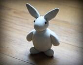 CUSTOM Polymer Clay Bunny Ornament - Looks like YOUR bunny!