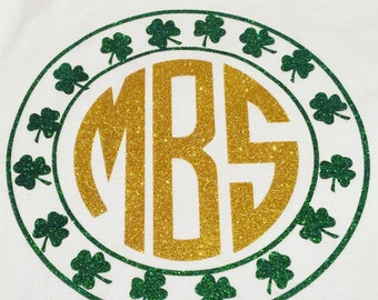 Lucky Monogrammed Tops