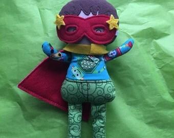 Super Hero Doll - Softie/Plushie