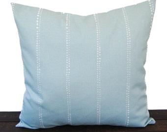 Pillow, Throw Pillow, Pillow Cover, Cushion, Decorative Pillow, Spa Blue Nautical Beach Lakehouse decor Nautical Beach Sailing Carlo